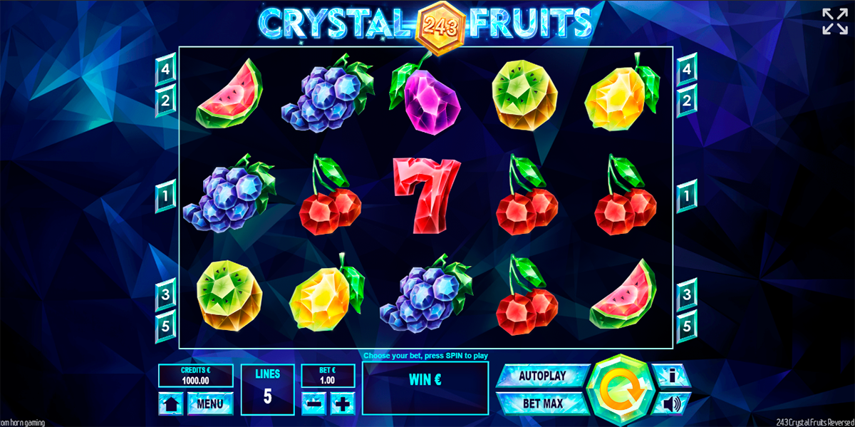 243 crystal fruits reversed tom horn