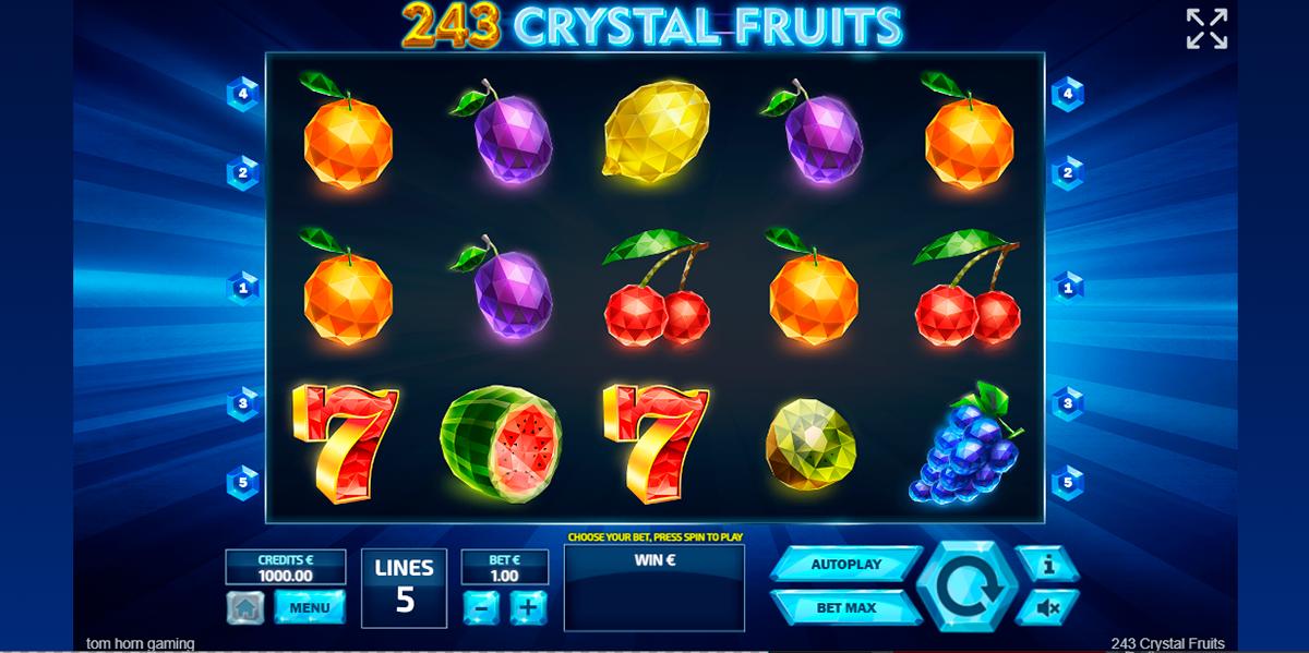 243 crystal fruits tom horn