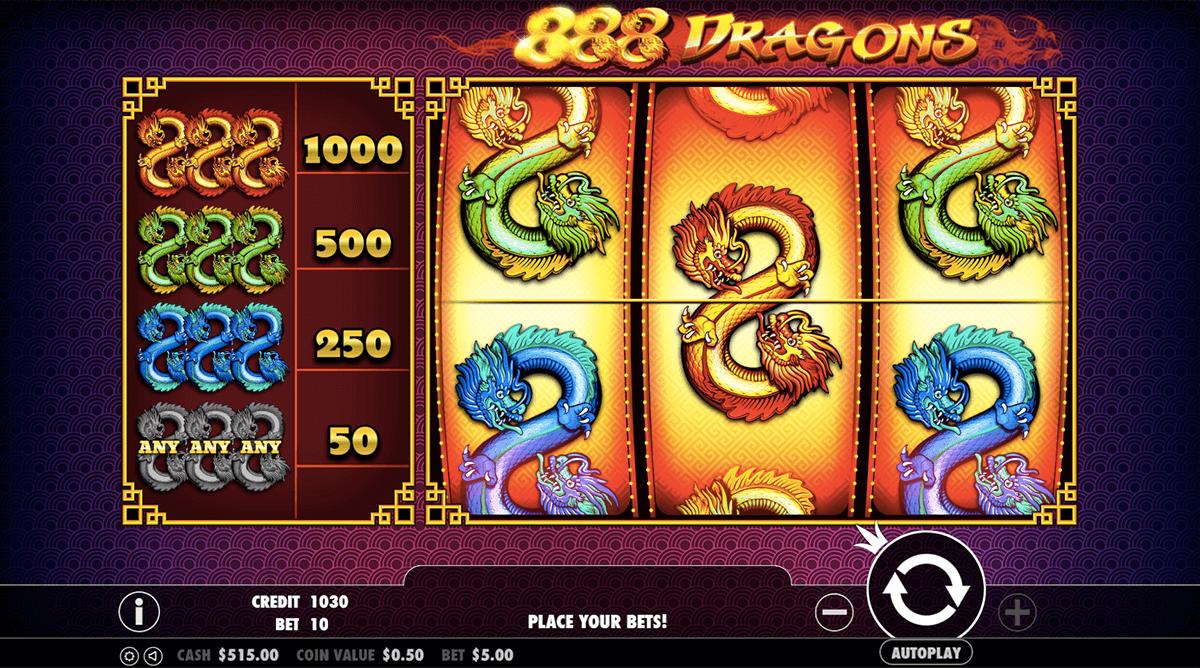 888 dragons pragmatic