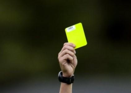 Förbjuda odds på gula kort