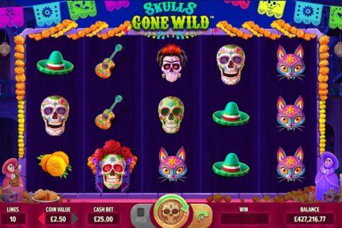 Skulls Gone Wild screenshot