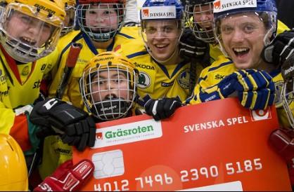 Svenska Spel skänker pengar till svensk ungdomsidrott