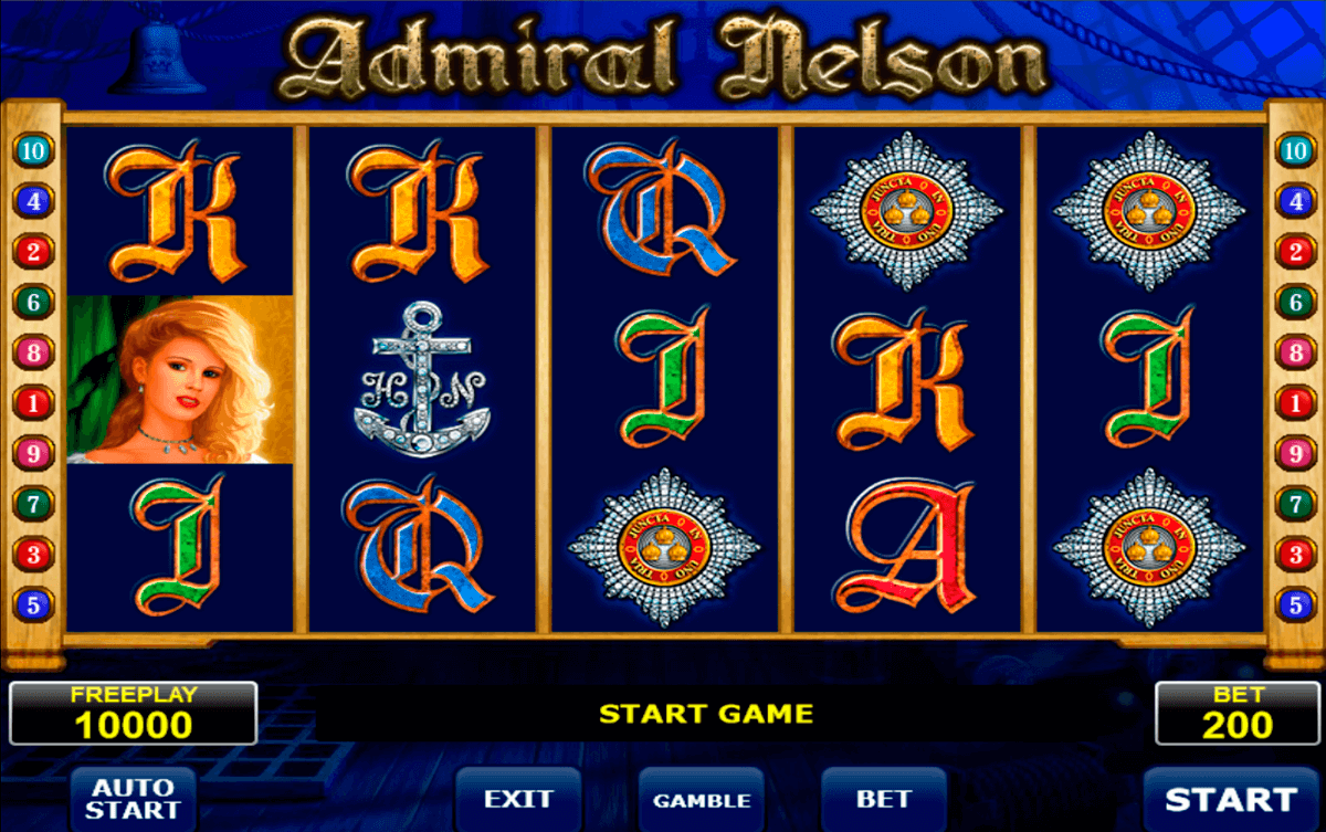 admiral nelson amatic