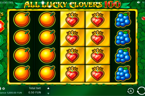 all lucky clovers bgaming