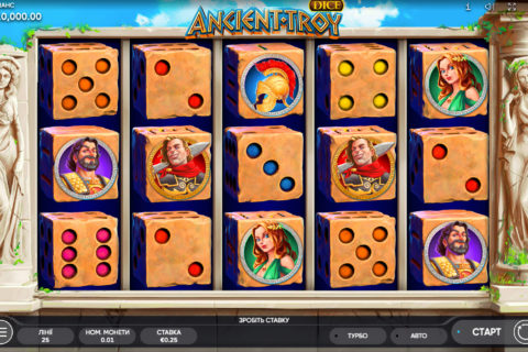 ancient troy dice endorphina