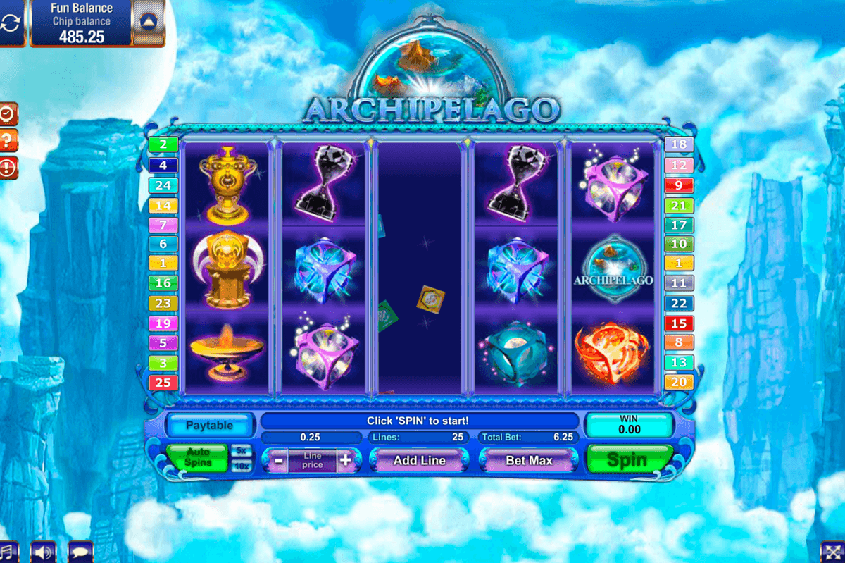 archipelago gamesos