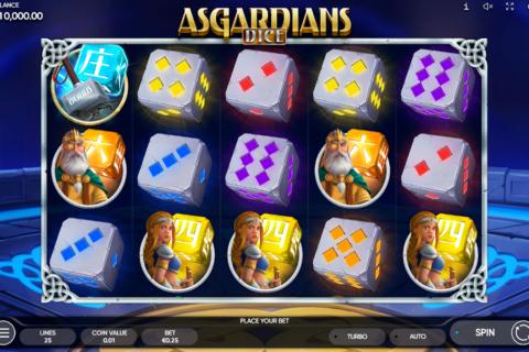asgardians dice endorphina