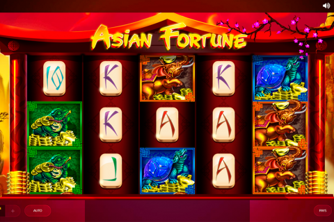 asian fortune red tiger