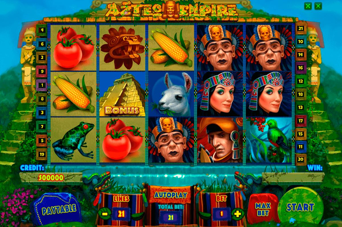 aztec empire playson
