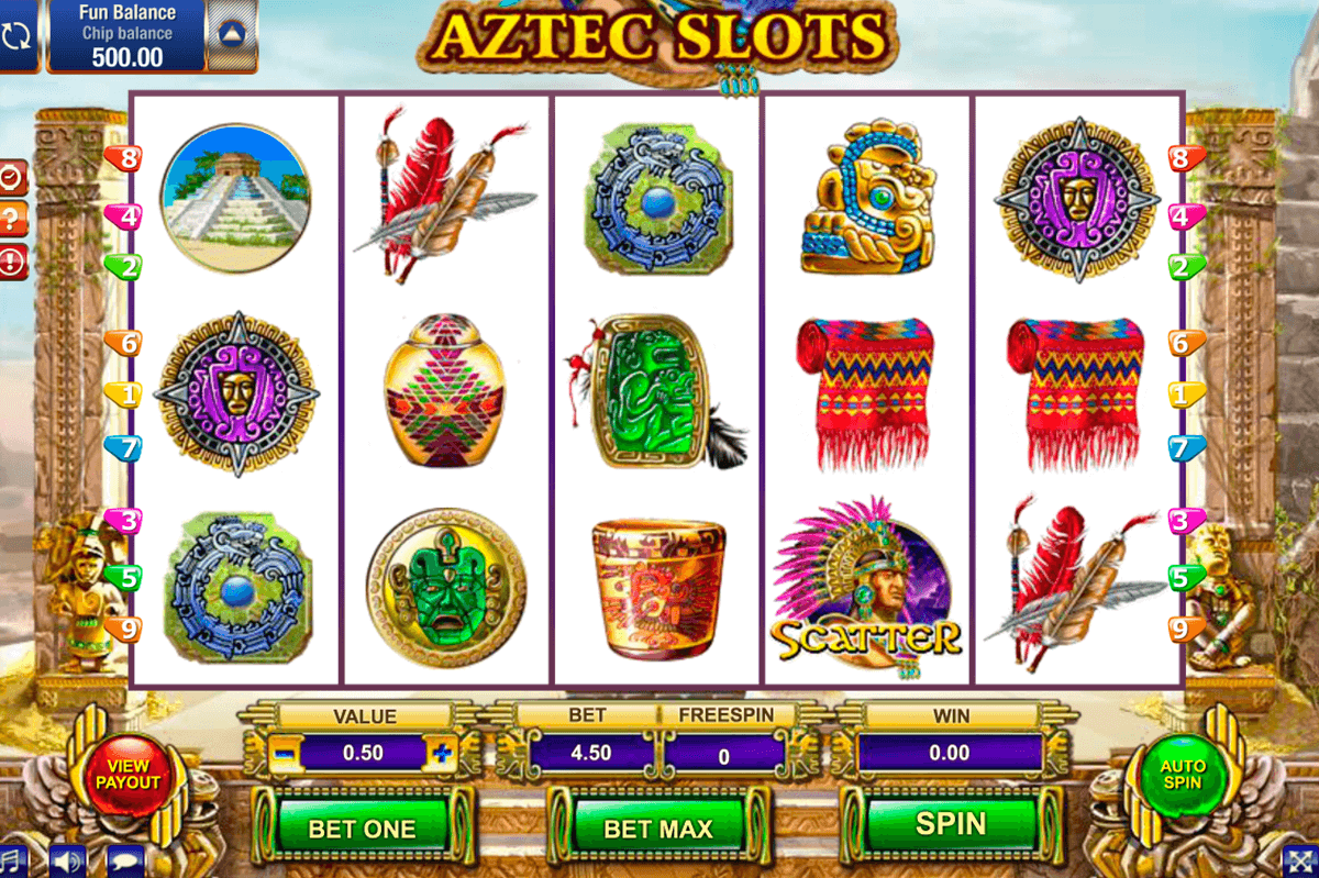 aztec slot gamesos