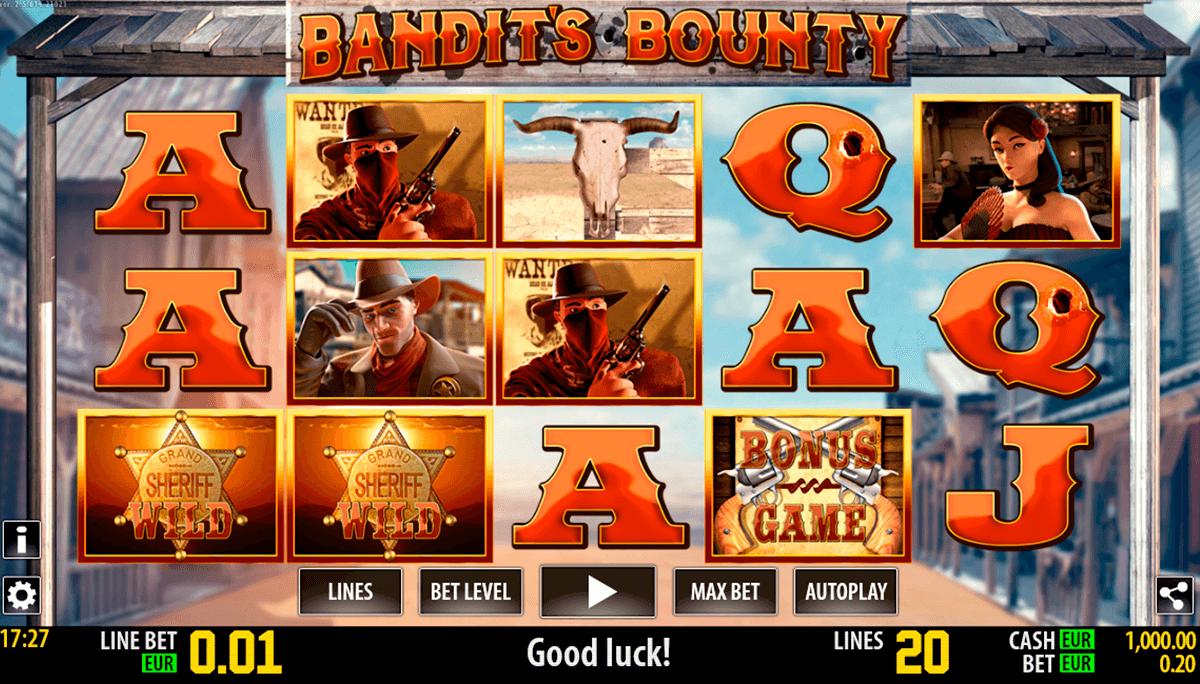 bandits bounty hd world match