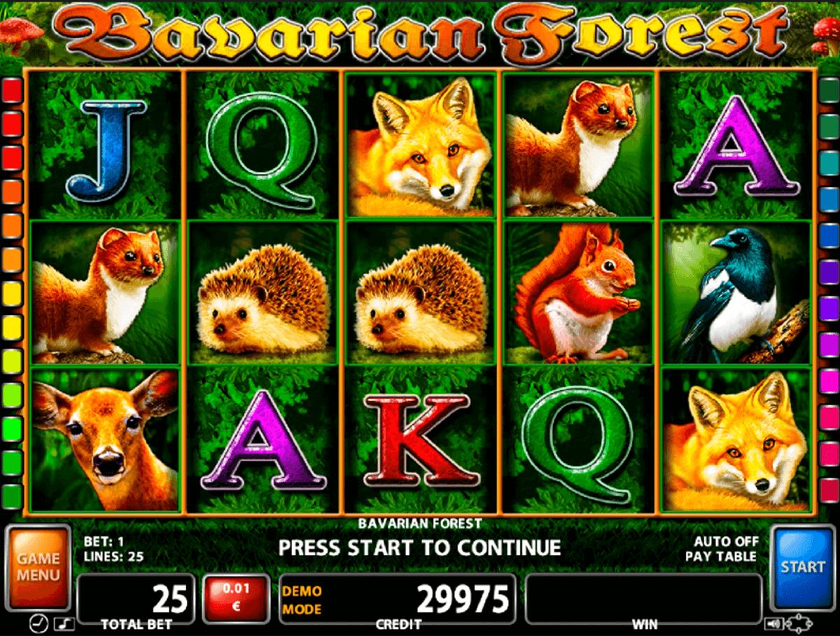 bavarian forest casino technology