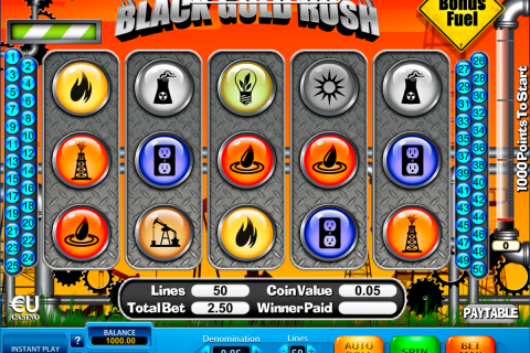 black gold rush skillonnet