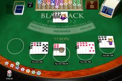 blackjack multihand  playtech