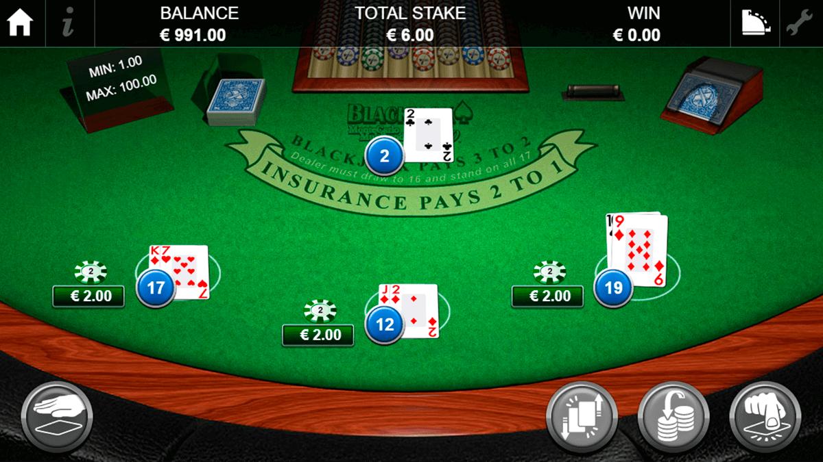 blackjack pro montecarlo multihand netgen gaming