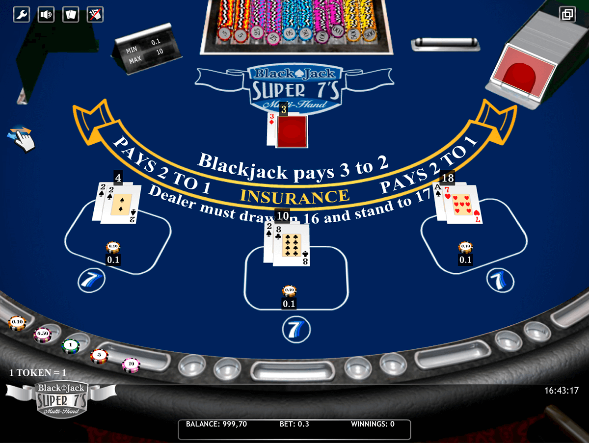 blackjack super s multihand isoftbet