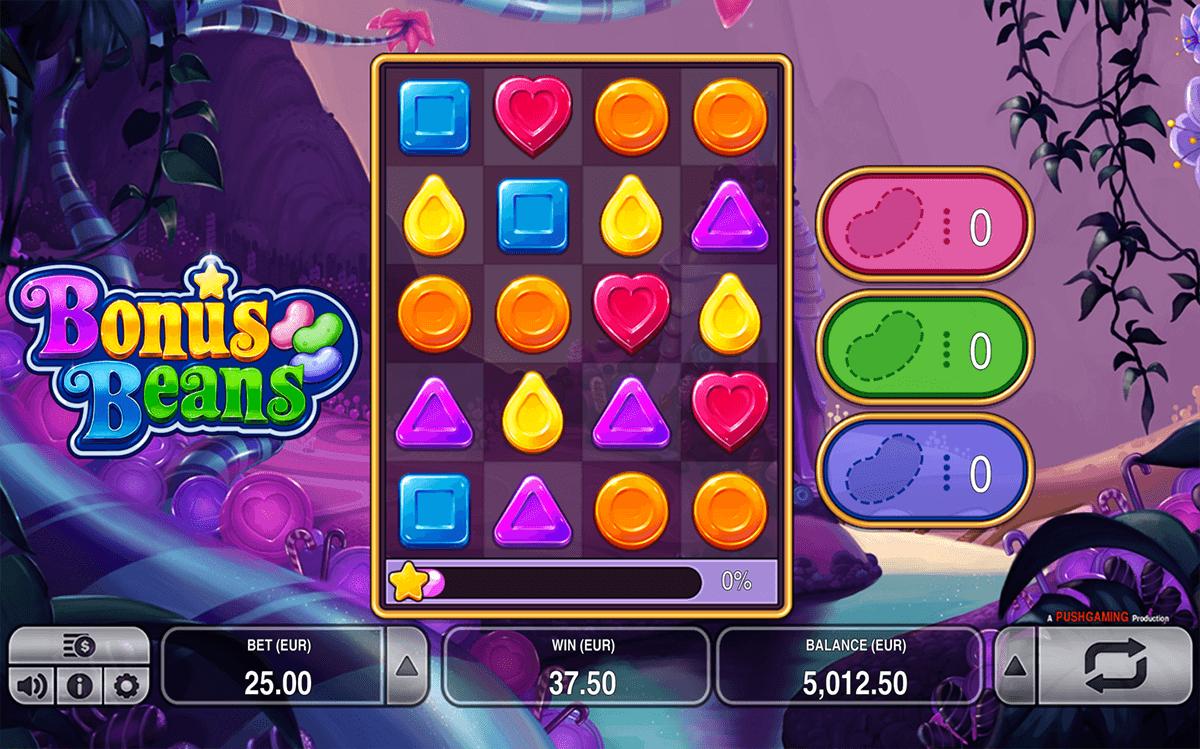 bonus beans push gaming