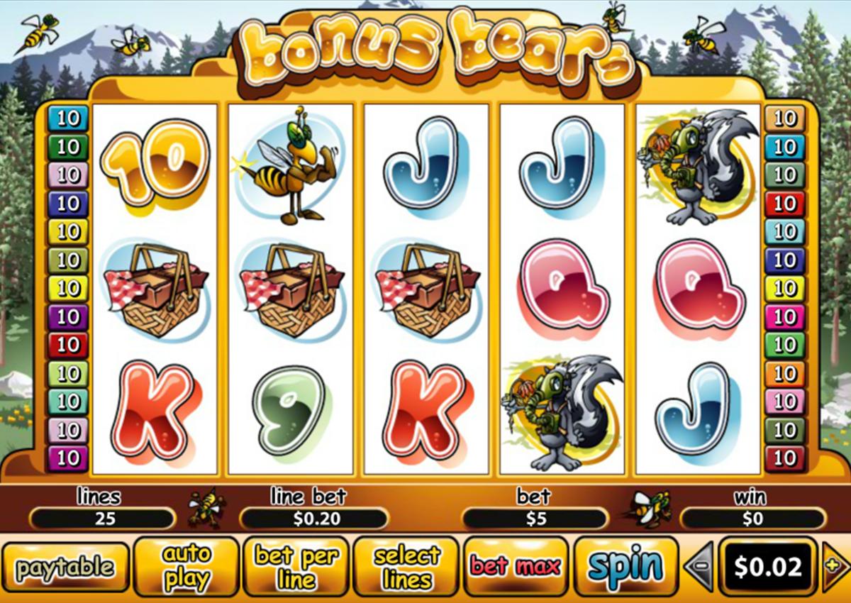 bonus bears playtech