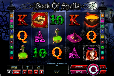 book of spells tom horn