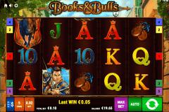 books and bulls bally wulff