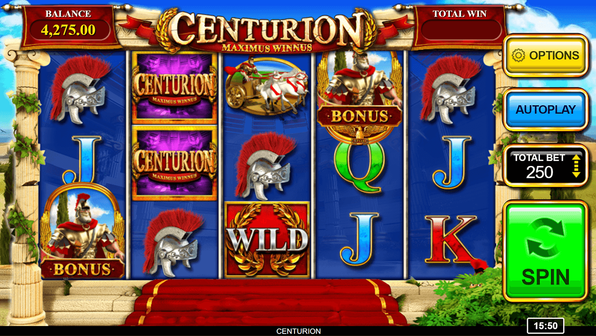 centurion inspired gaming