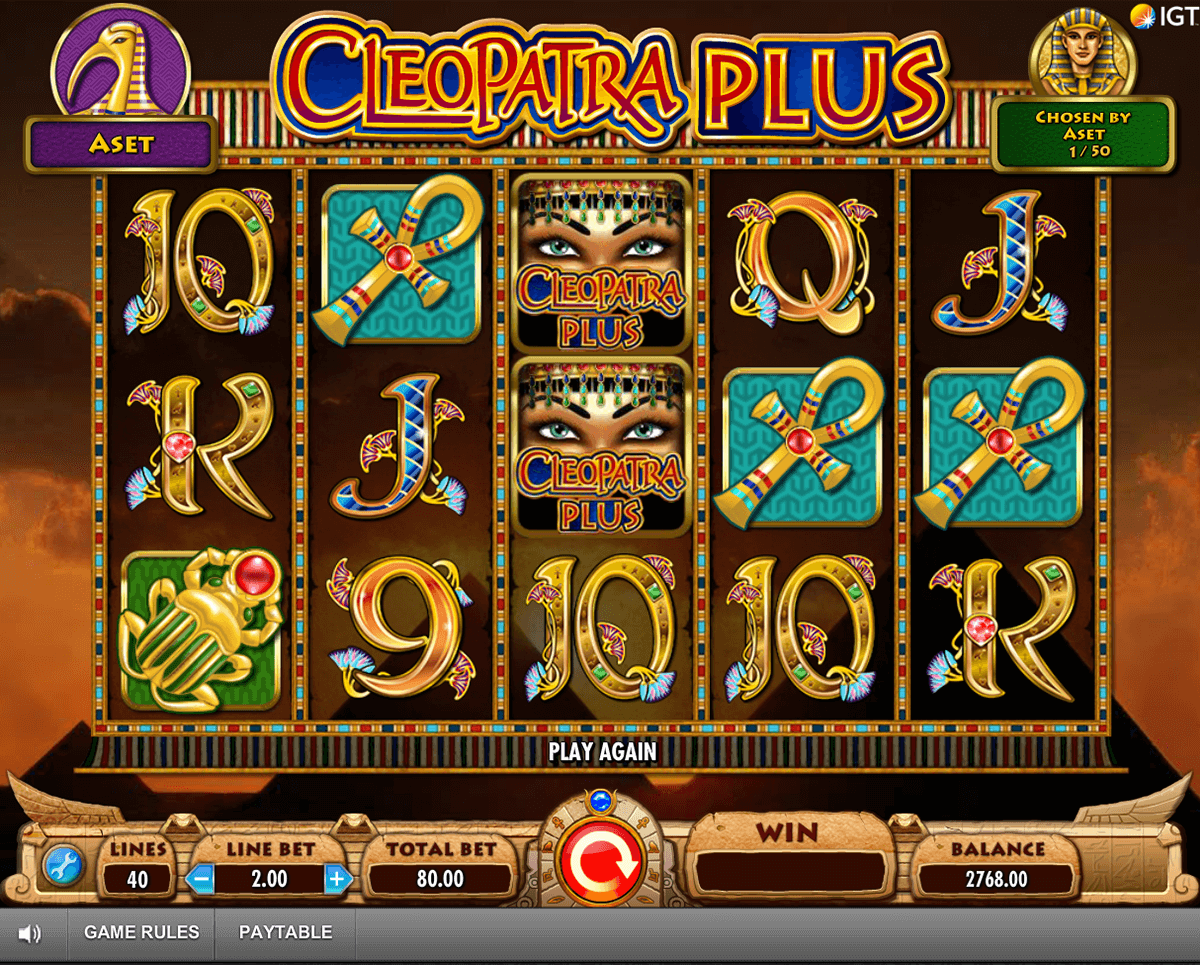 cleopatra plus igt