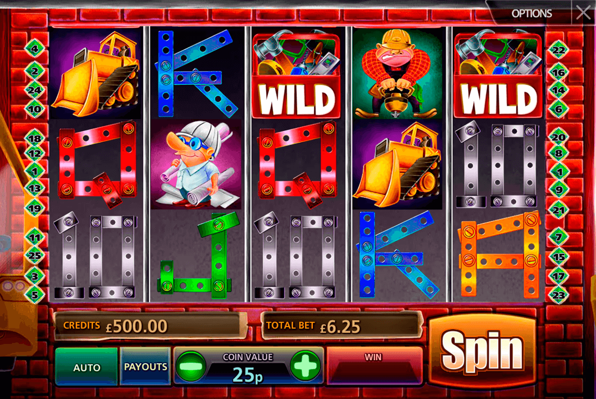 construction cash multislot