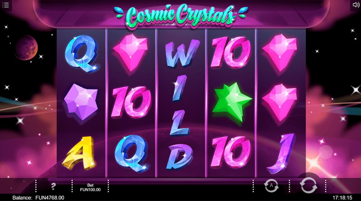 cosmic crystals iron dog