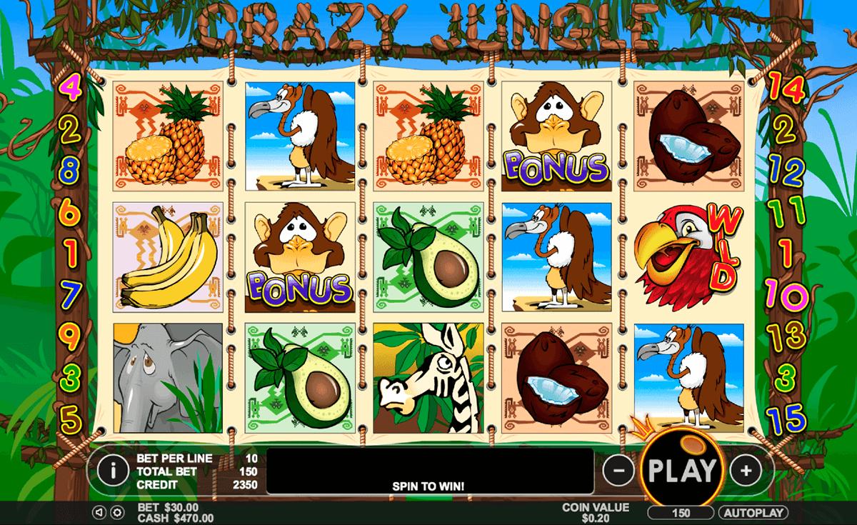 crazy jungle pragmatic