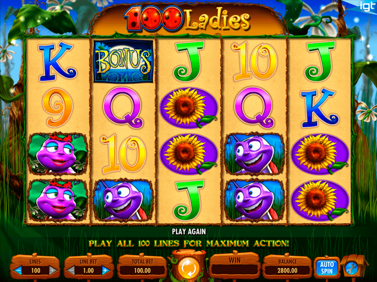 100 Ladies Slot Machine Online ᐈ IGT™ Casino Slots