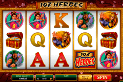 heroes microgaming spelautomat