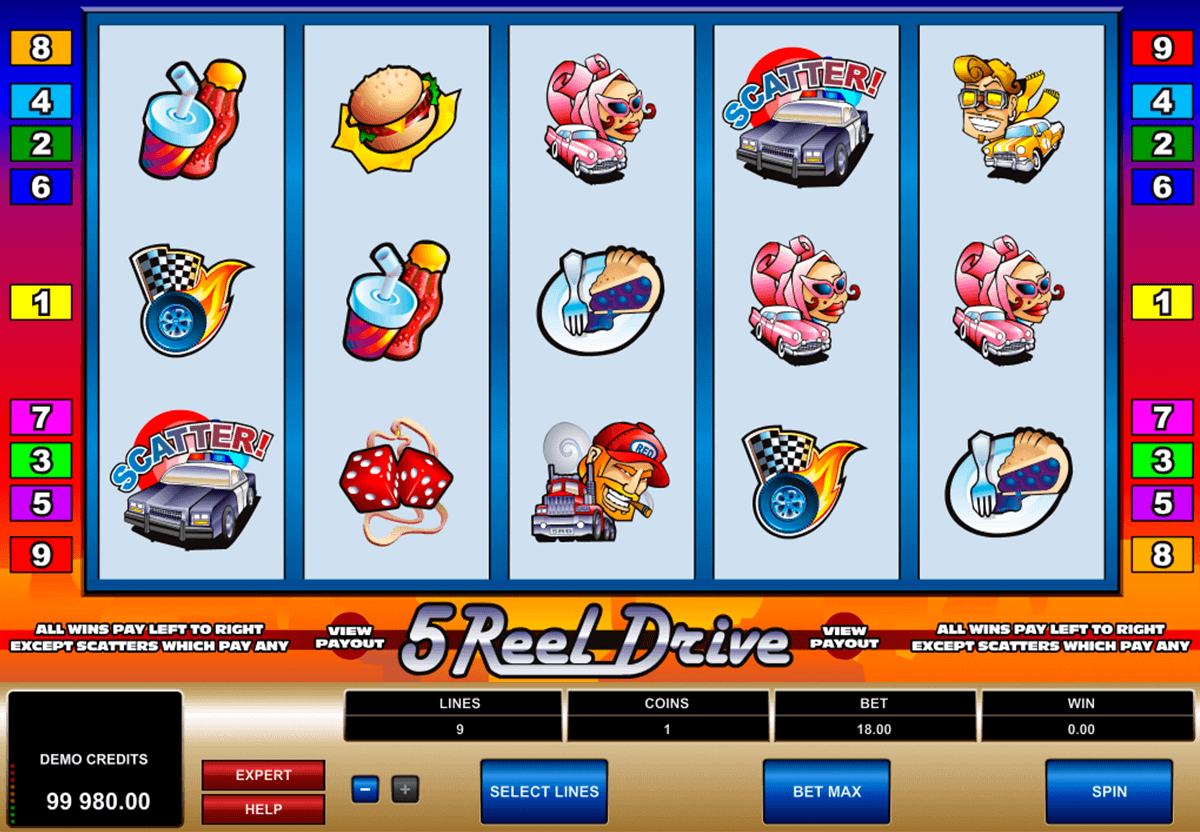 reel drive microgaming spelautomat