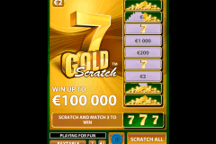 gold scratch netent skraplott online