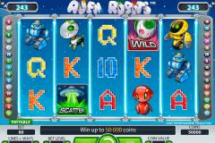 alien robots netent spelautomat