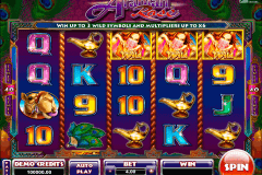 arabian rose microgaming spelautomat
