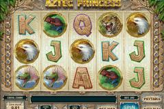 aztec princess playn go spelautomat