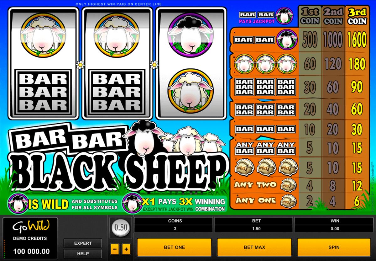 barbarblack sheep microgaming spelautomat