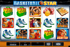 basketball star microgaming spelautomat