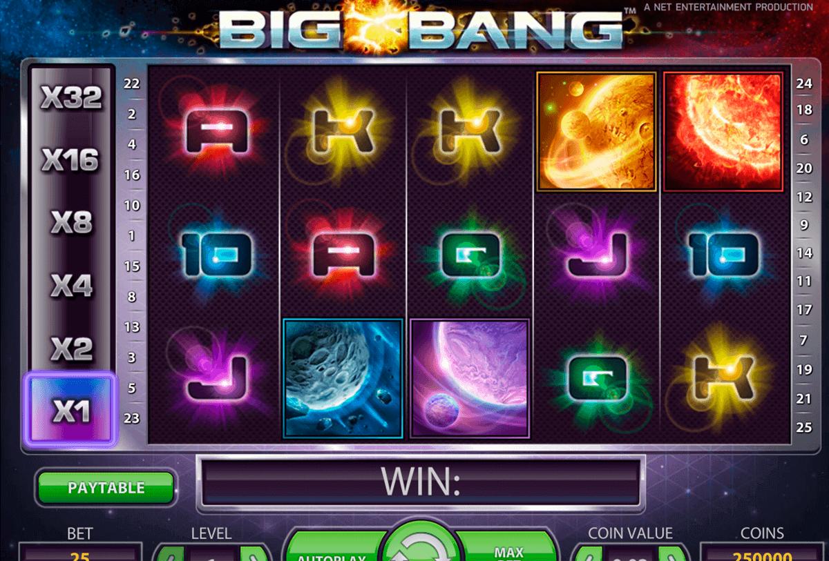 big bang netent spelautomat