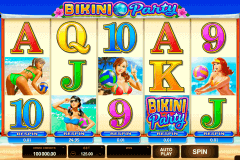 bikini party microgaming spelautomat