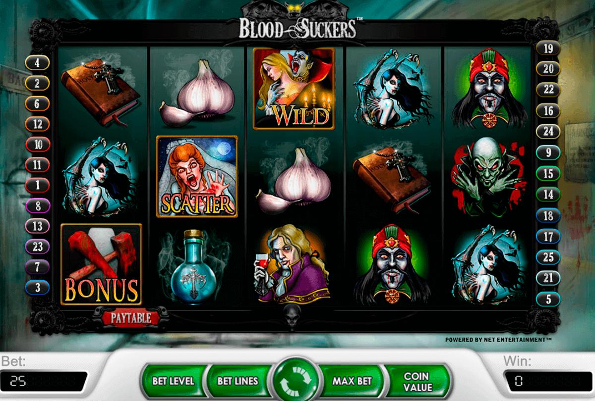blood suckers netent spelautomat