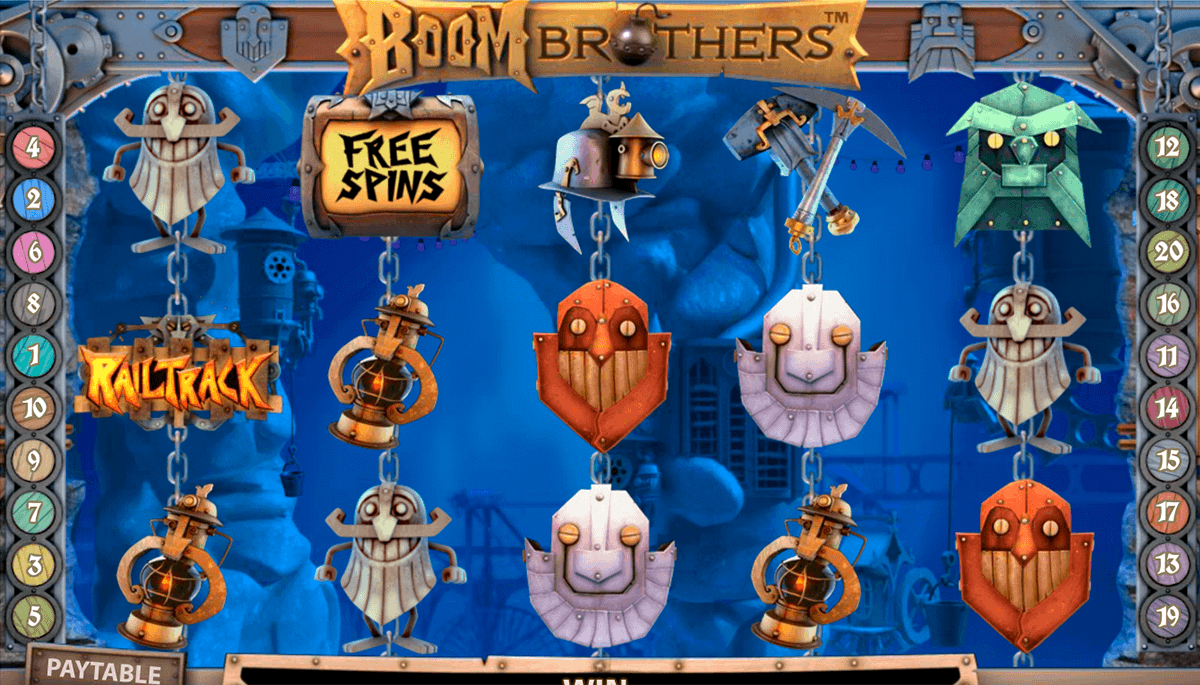 boom brothers netent spelautomat