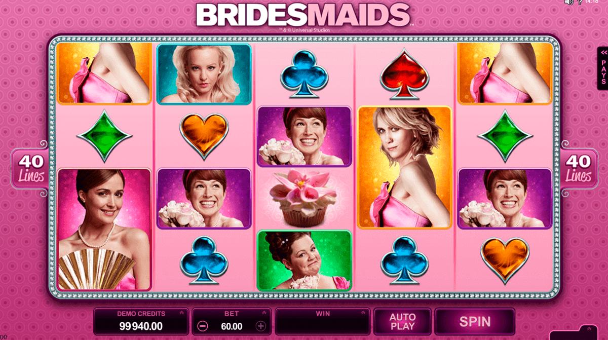 bridesmaids microgaming spelautomat