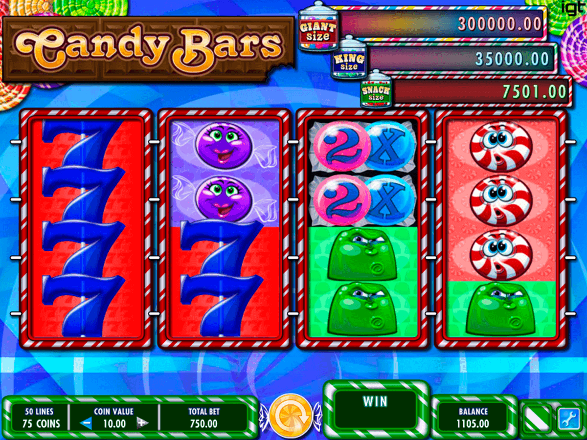 candy bars igt spelautomat