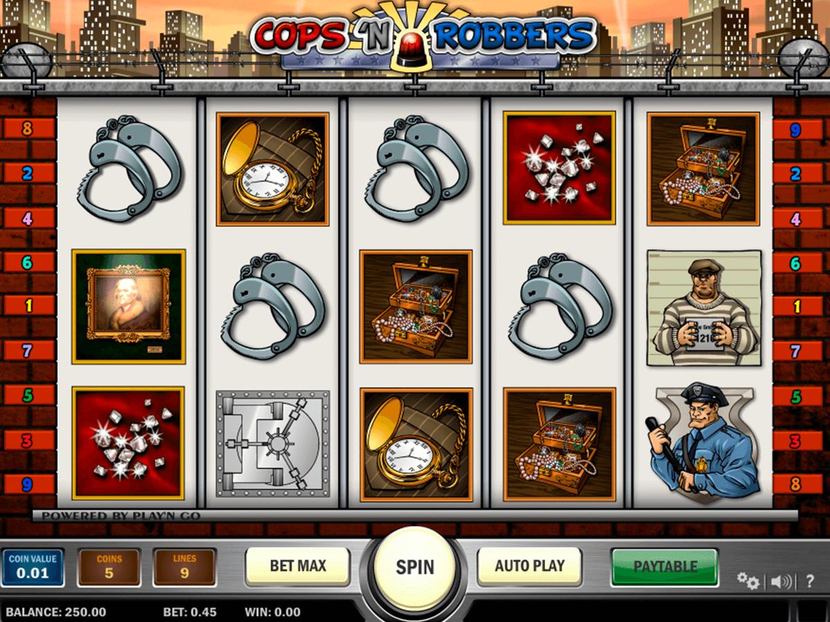 cops n robbers playn go spelautomat