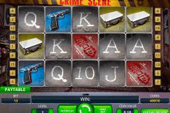 crime scene netent spelautomat