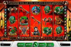 crusade of fortune netent spelautomat