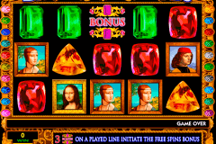 da vinci diamonds igt spelautomat