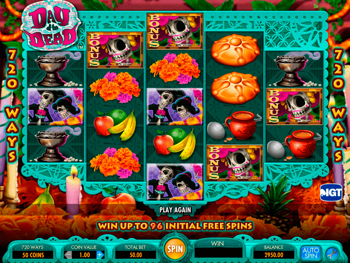 day of the dead igt spelautomat