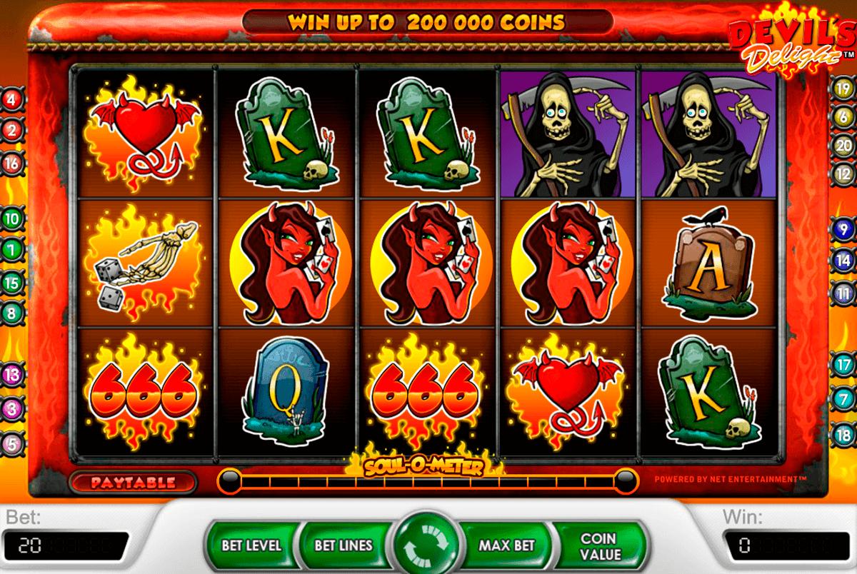 devils delight netent spelautomat